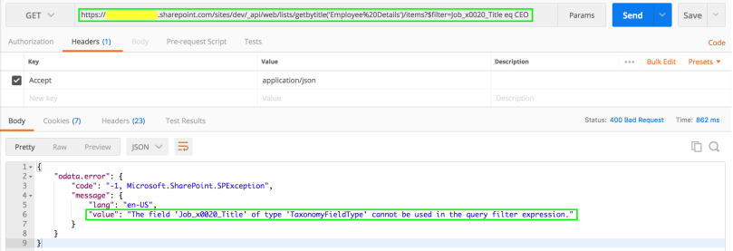SharePoint Online - REST API - Select Taxonomy Field | SharePoint Rider